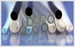 Medical Clear Tubing, Think and Heavy walled Tubing with Sealed or clear bottom plastic tubing.